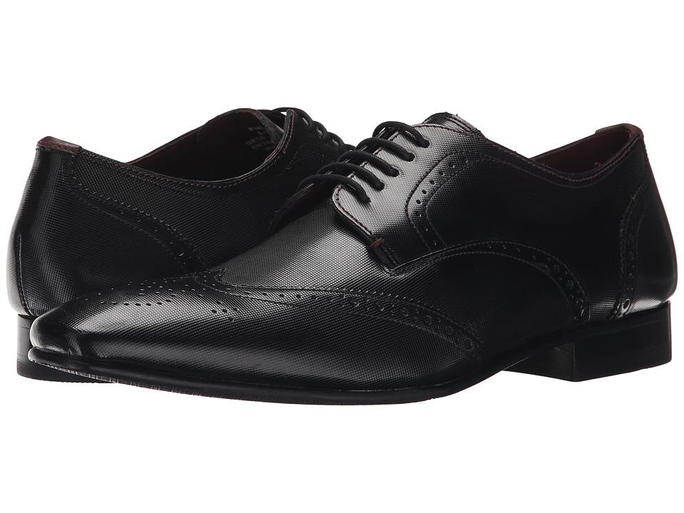 Ted Baker - Finbarr 2 (Black Leather) Men's Shoes