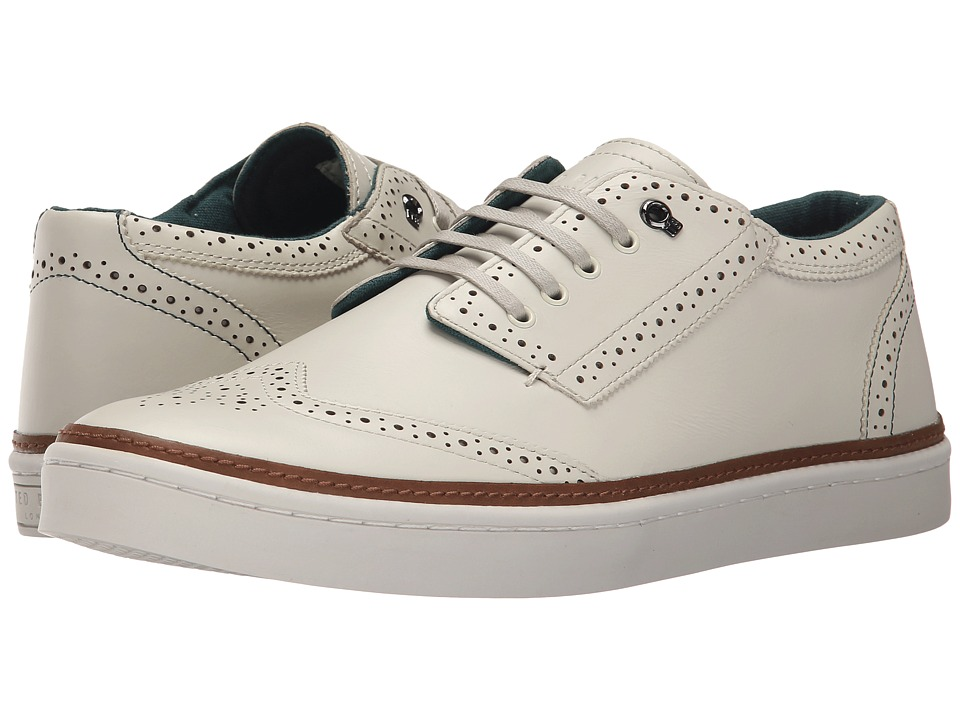 Ted Baker - Iivor 2 (White Leather) Men's Lace up casual Shoes