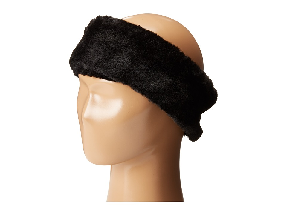 Calvin Klein - Faux Fur Headband (Black 2) Knit Hats