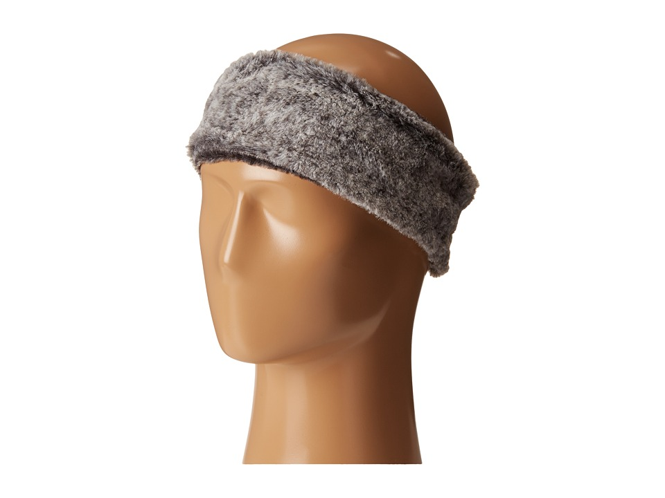 Calvin Klein - Faux Fur Headband (Gray) Knit Hats