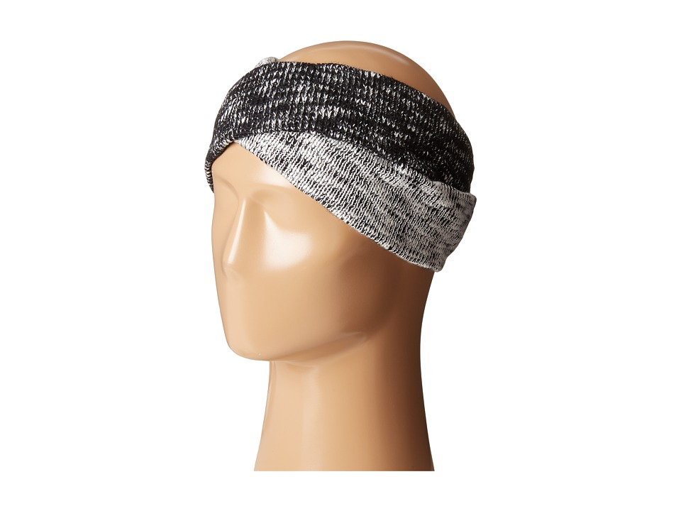 Calvin Klein - Plaited Twist Headband (Black) Knit Hats