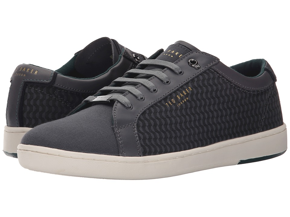 Ted Baker - Keeran 3 (Dark Grey Textile) Men's Lace up casual Shoes