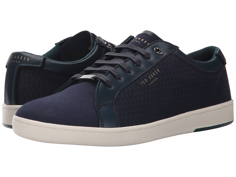 Ted Baker - Keeran 3 (Dark Blue Textile) Men's Lace up casual Shoes