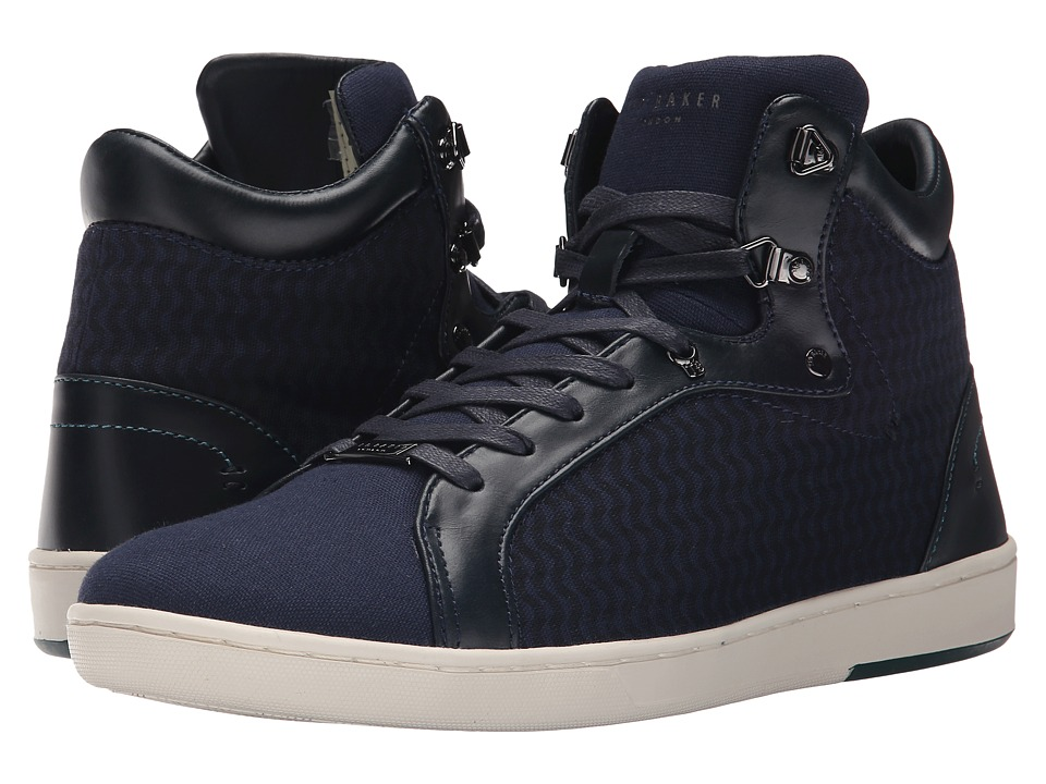 Ted Baker - Stoorb 2 (Dark Blue Textile) Men's Lace up casual Shoes