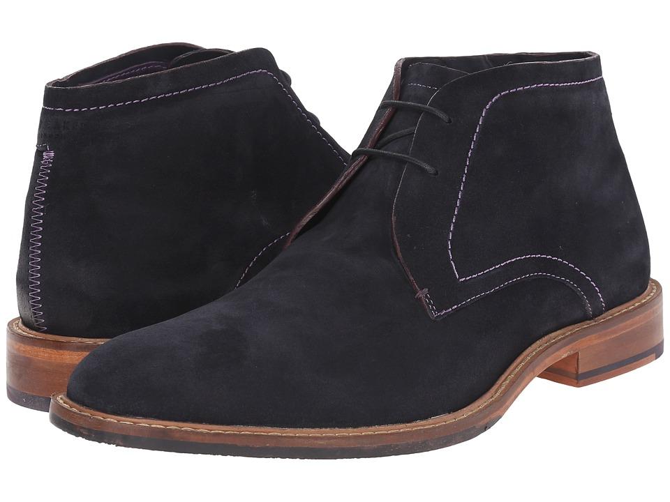 Ted Baker - Torsdi 4 (Dark Blue Suede) Men's Shoes