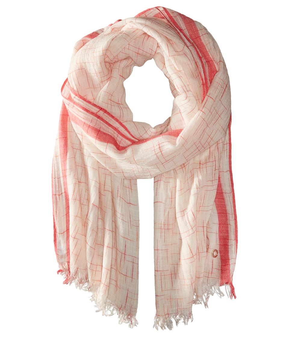 Calvin Klein - Space Dye Slub Scarf (Amaranth) Scarves