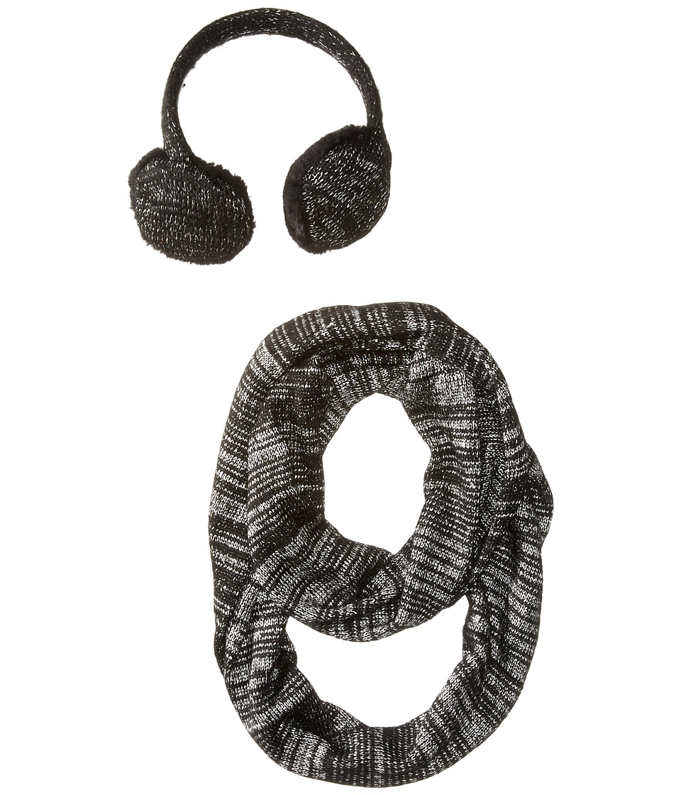 Calvin Klein - Sequin Headphone/Loop Set (2 Piece) (Black) Headphones