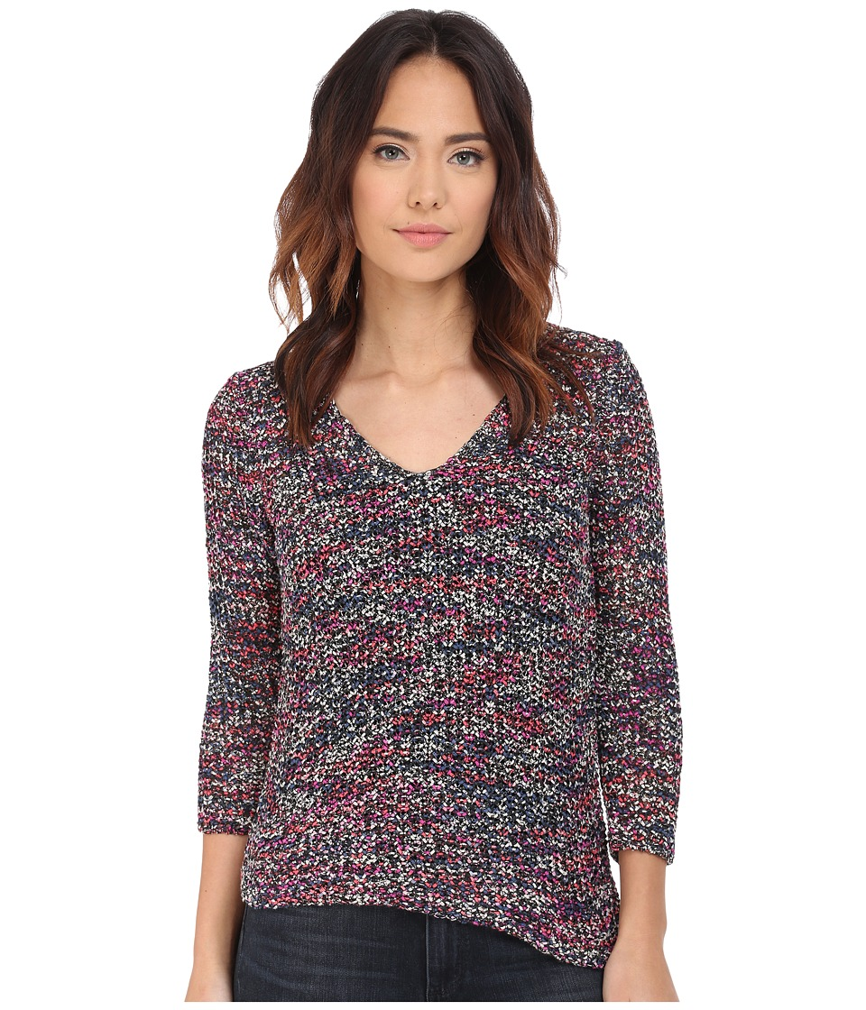 NIC+ZOE - Rhythm and Blues Top (Multi) Women's Sweater