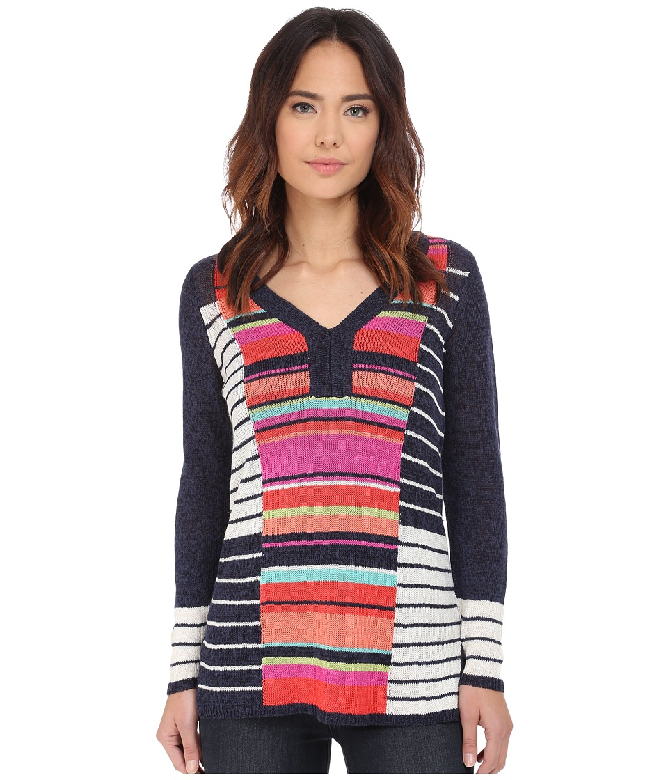 NIC+ZOE - Highnote Top (Multi) Women's Sweater