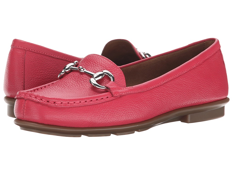 Aerosoles - Nuwsworthy (Dark Pink Leather) Women's Shoes