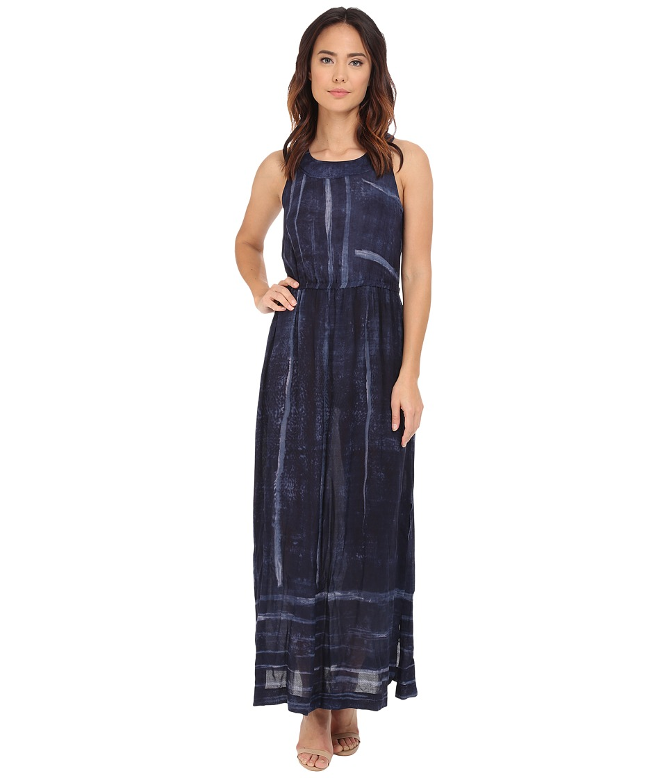 NIC+ZOE Indigo Strokes Dress (Multi) Women