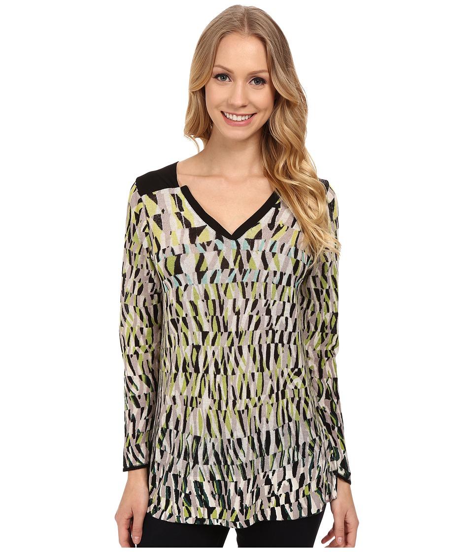 NIC+ZOE - Urban Spark Top (Multi) Women's Sweater