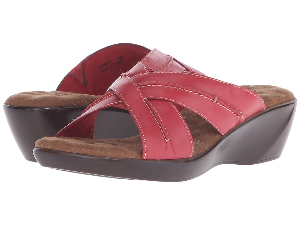 Walking Cradles Chase (Red Burnished Leather) Women