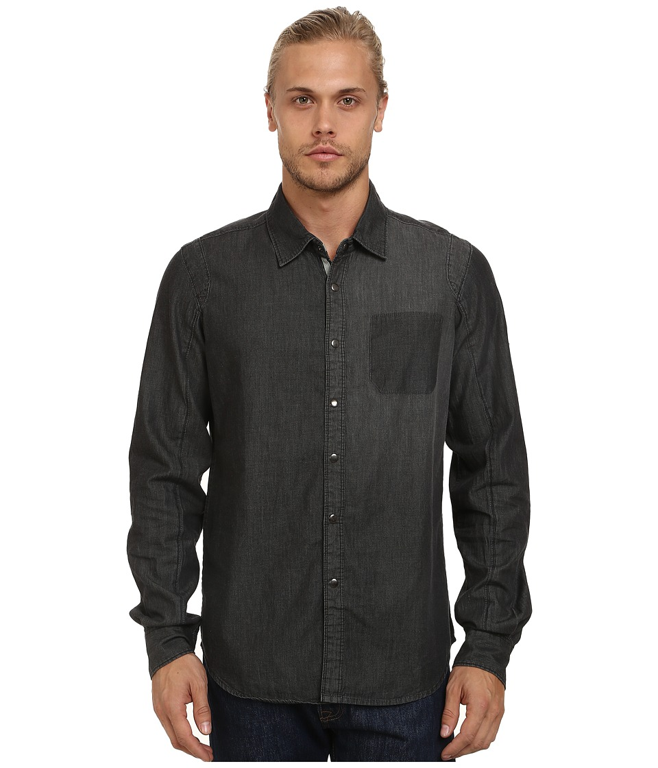 Alpinestars - Centro Woven Shirt (Black) Men's Short Sleeve Button Up