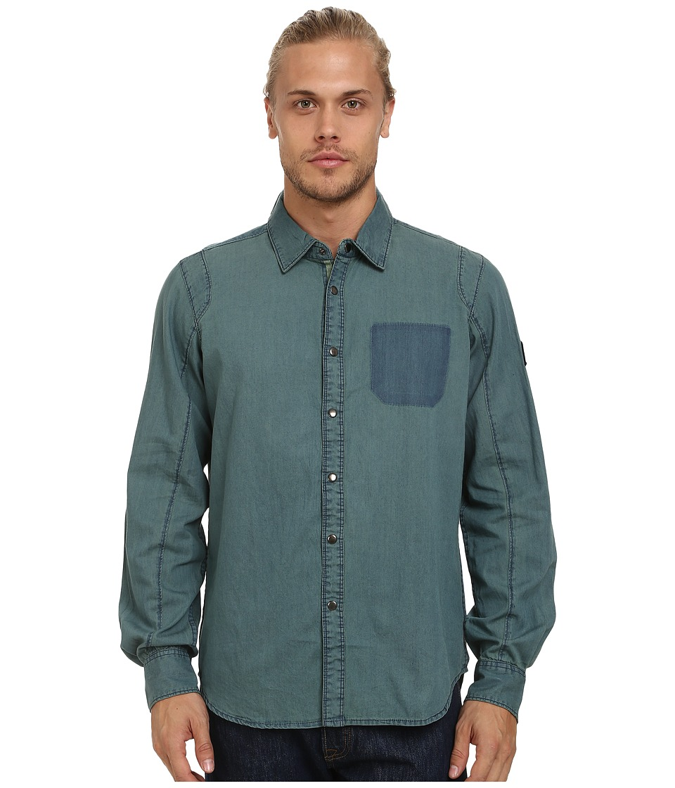 Alpinestars - Centro Woven Shirt (Blue) Men