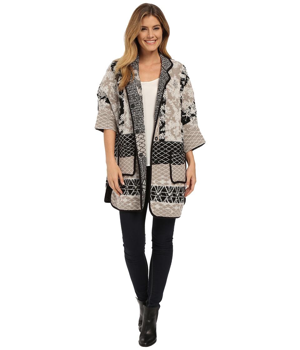 NIC+ZOE - Gallivant Cardy (Multi) Women's Sweater