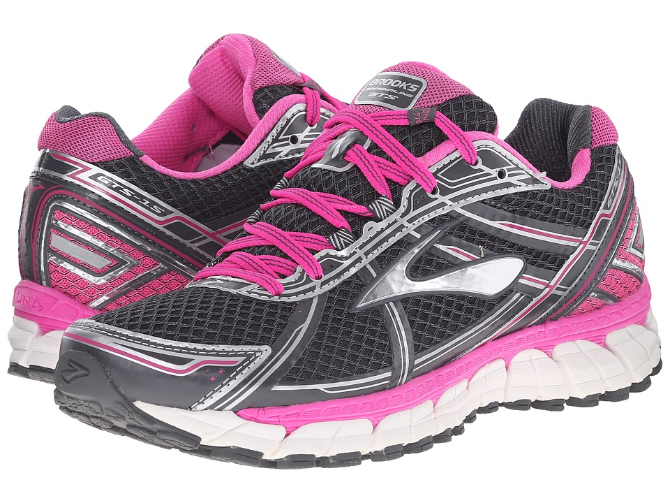 6620c803efe ... Running Shoes 1201741b609 UPC 762052801065 product image for Brooks - Adrenaline  GTS 15 (Grey Pink) Women s ...