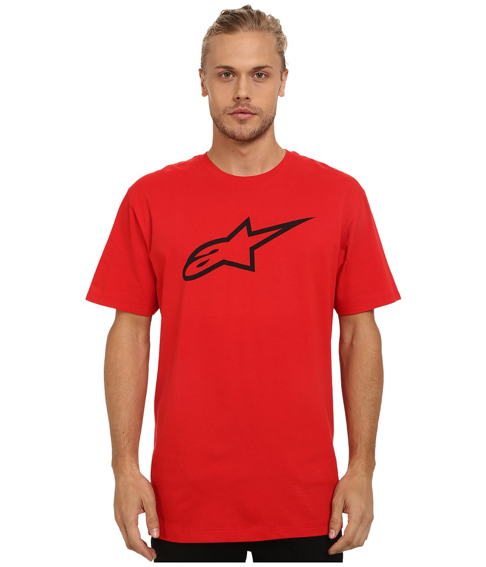 Image of Alpinestars - Ageless Tee (Red) Men's T Shirt