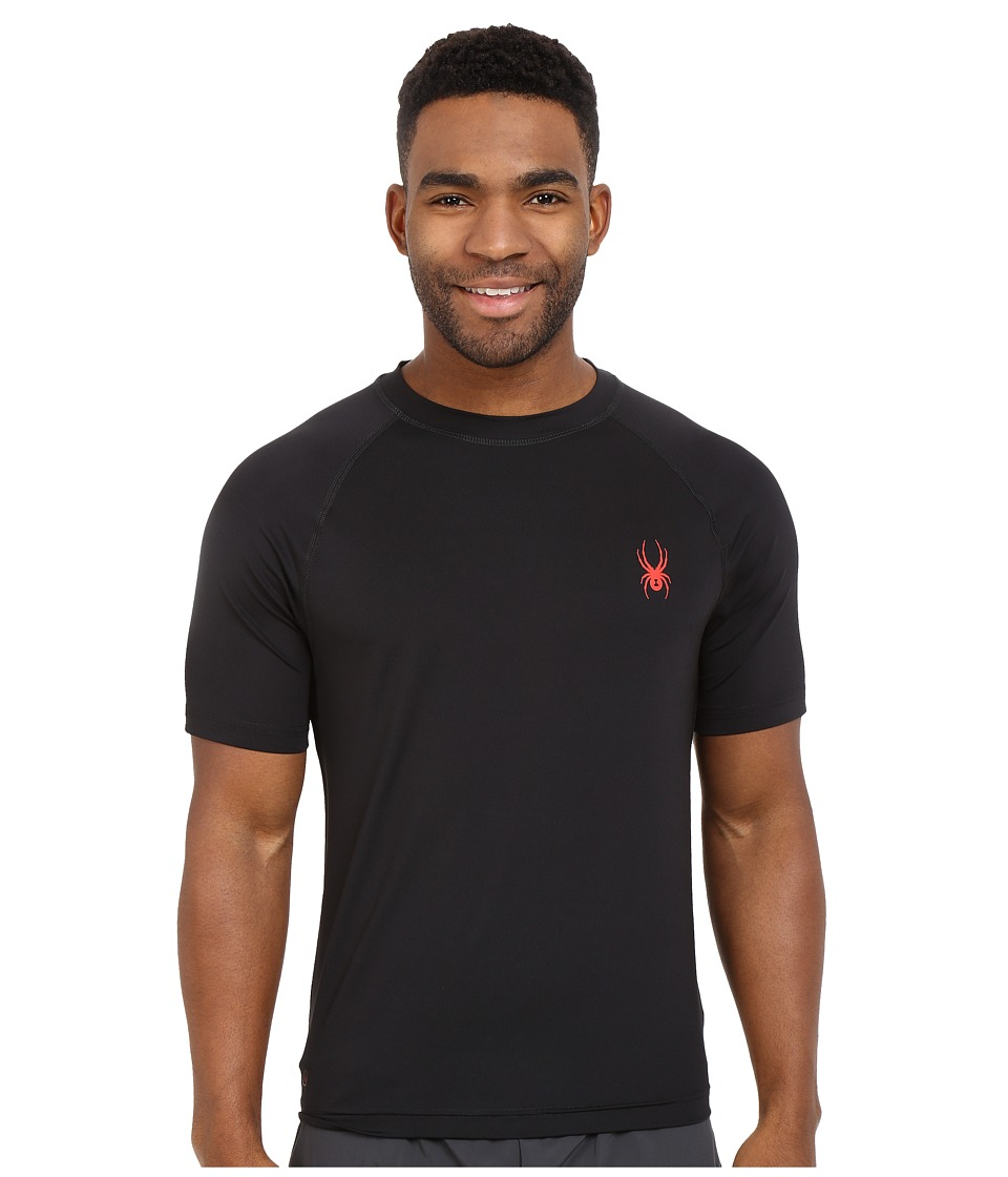 Spyder - Kyros Short Sleeve Shirt (Black) Men's Short Sleeve Pullover