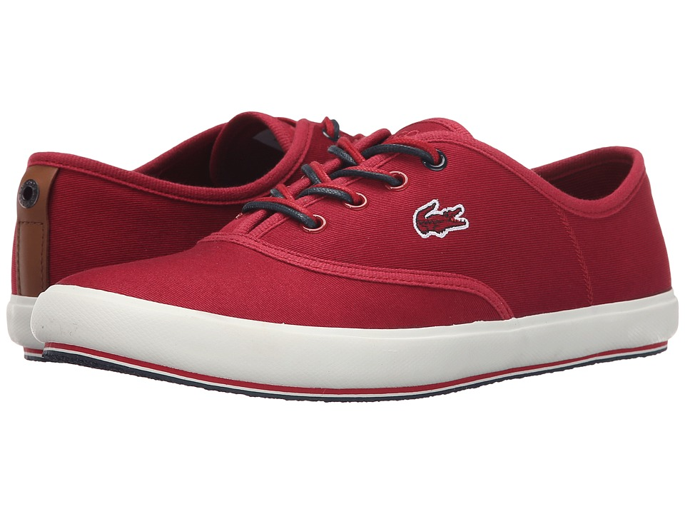 Lacoste - Amaud (Red) Women's Lace up casual Shoes
