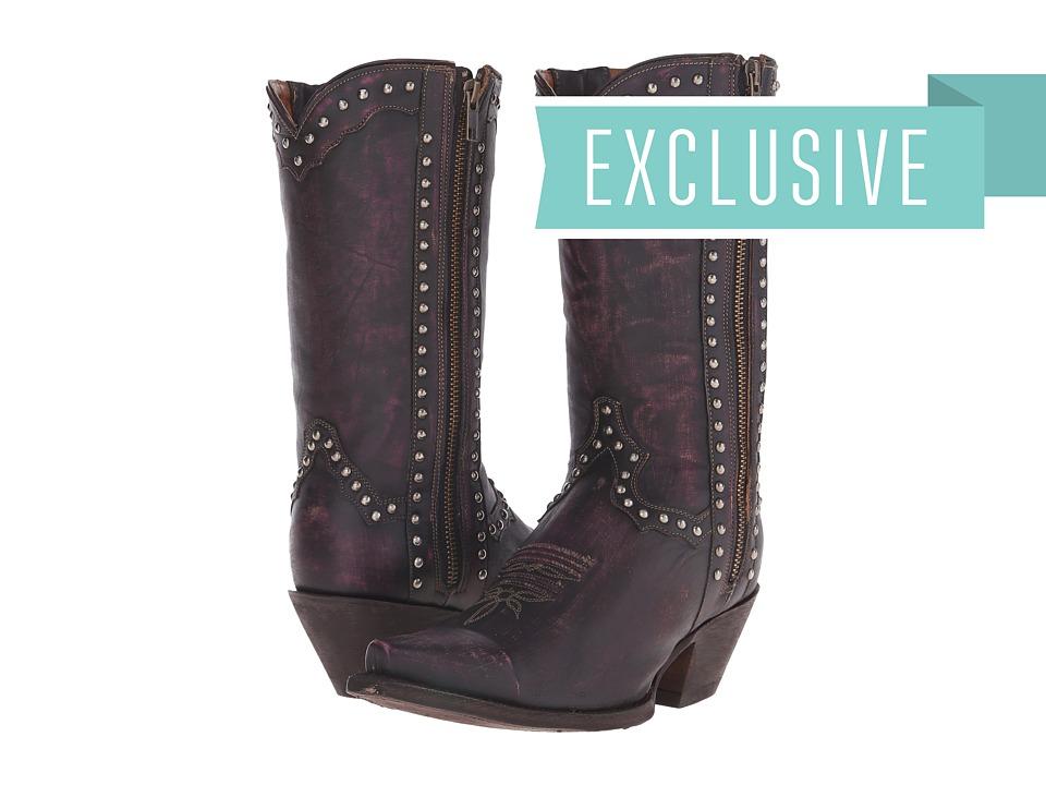 Dan Post - Camilla (Aged Magenta) Cowboy Boots