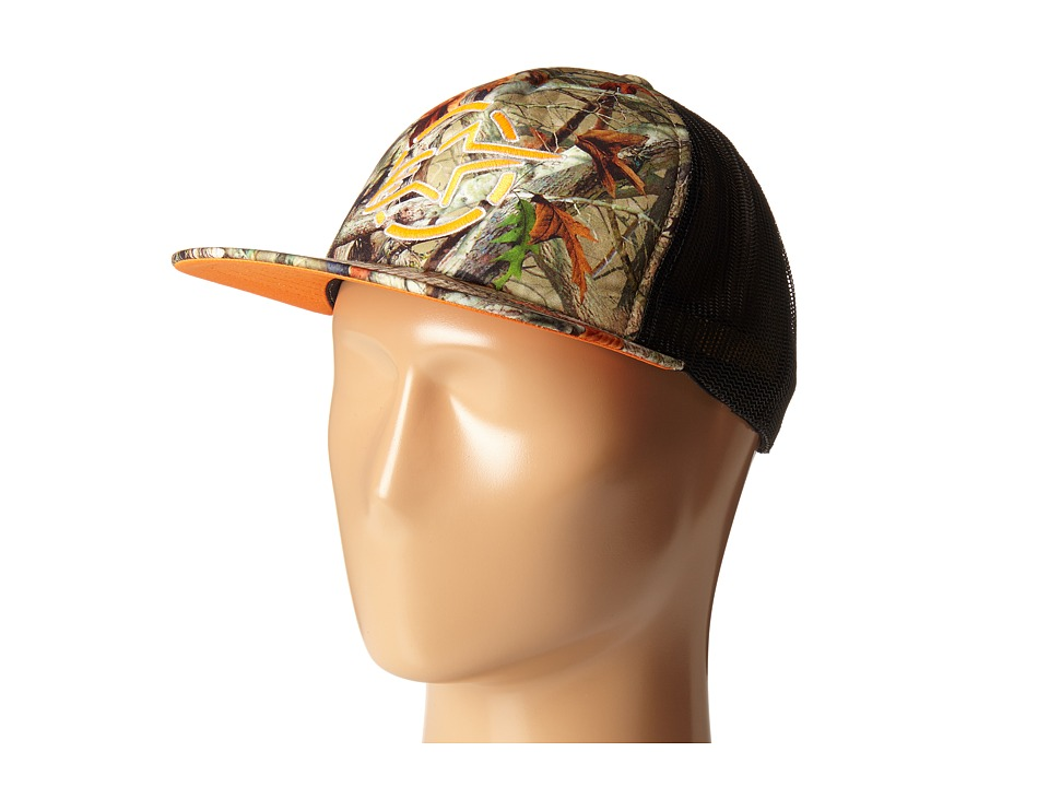 Alpinestars - Woodland Trucker Hat (Camo Green) Caps