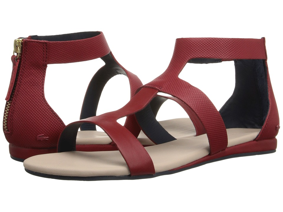 Lacoste - Atalaye (Dark Red) Women's Sandals