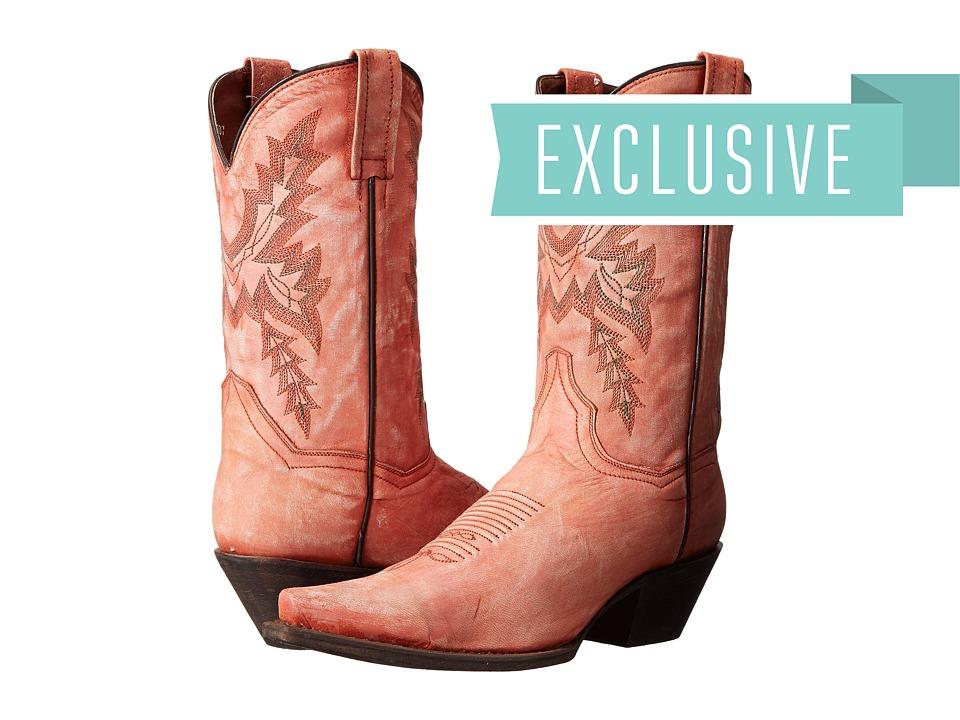 Dan Post - Gina (Coral Sanded) Cowboy Boots
