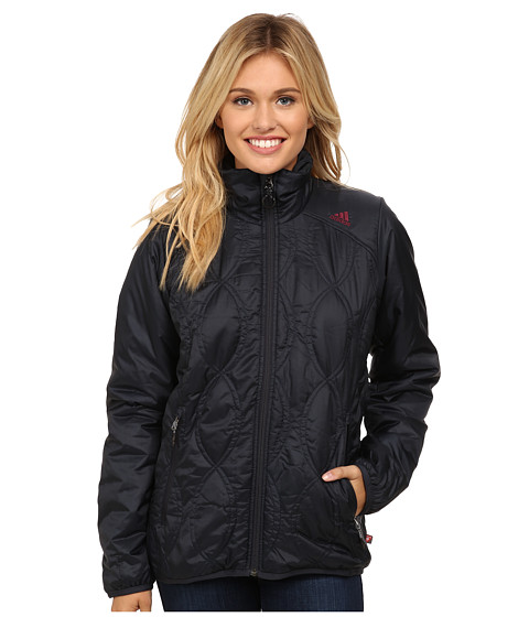 adidas Outdoor - Edo Boulder Loft Jacket (Phantom) Women's Coat