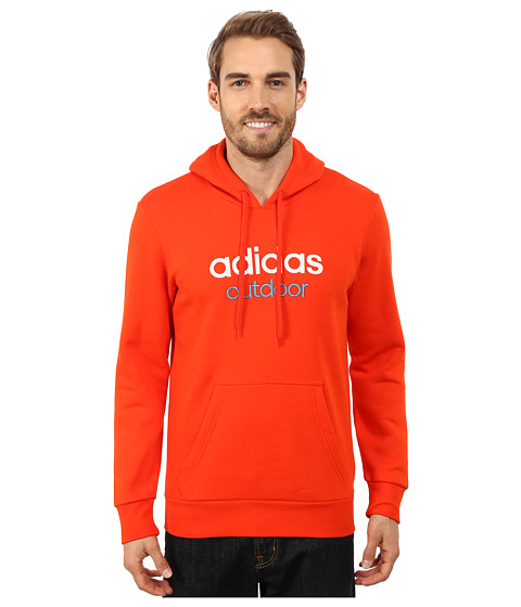 adidas Outdoor - Adidas Outdoor Hoodie (Dark Orange) Men's Sweatshirt