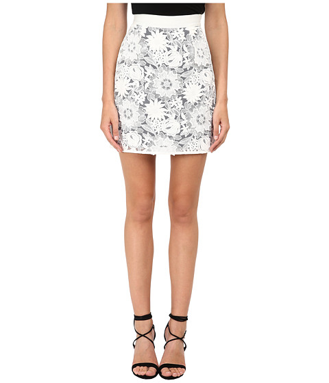 EMMA COOK - Lace Skirt (White) Women's Skirt