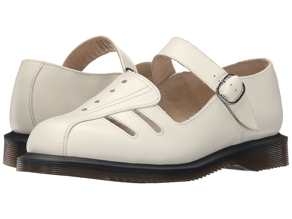 Dr. Martens Deardra Low Cut Mary Jane (White Smooth) Women