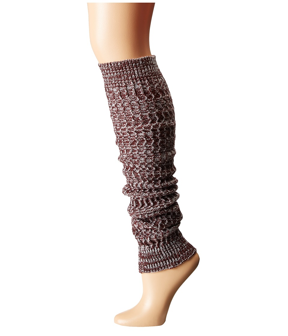 Free People - Triple Creek Marled Legwarmer (Berry Combo) Women's Knee High Socks Shoes