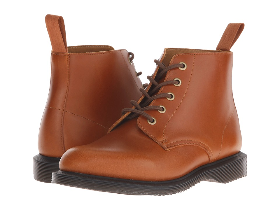 Dr. Martens - Emmeline 5-Eye Boot (Oak Analine) Women's Lace-up Boots