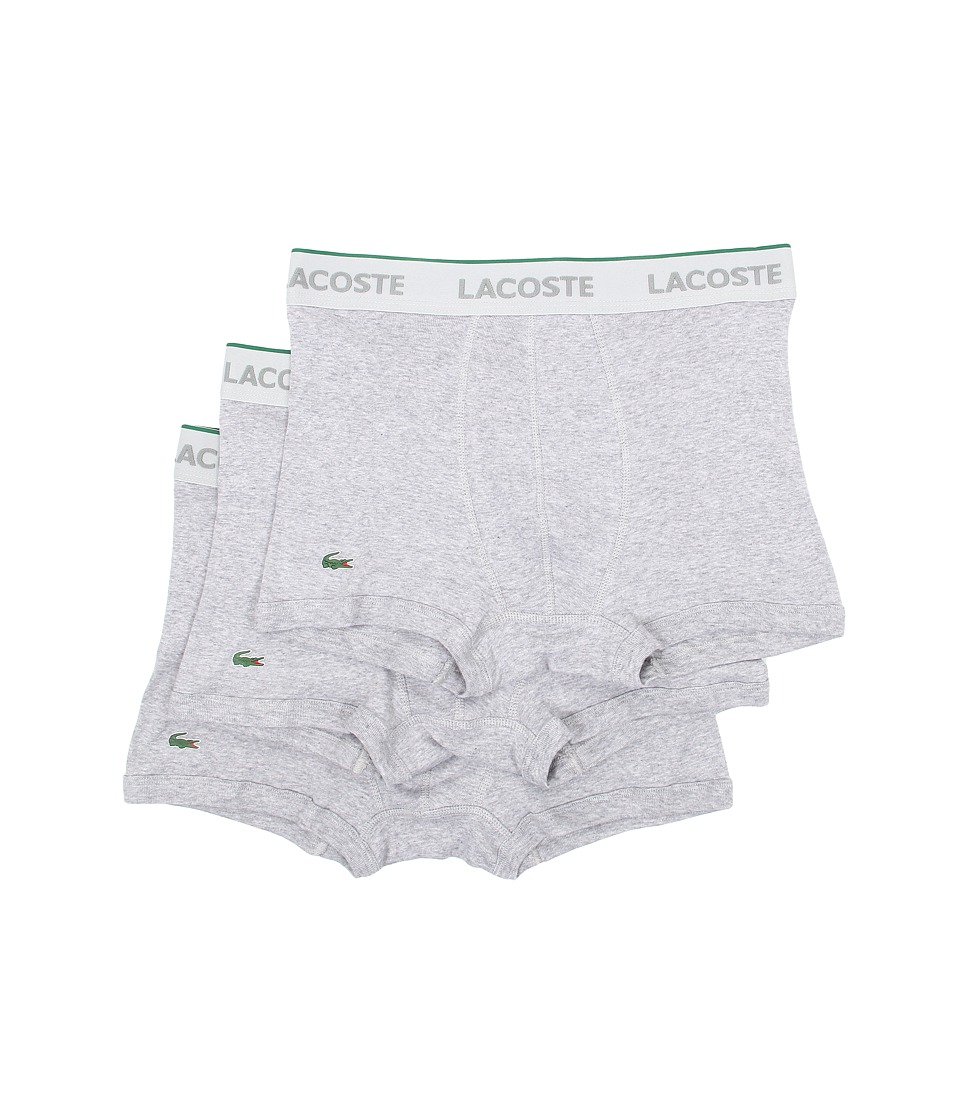 Lacoste - Solid Trunk (Grey) Men's Underwear