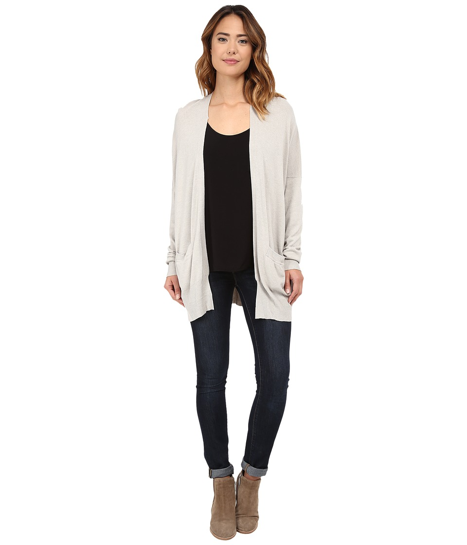 Culture Phit - Raylen Two-Pocket Cardigan (Heather Stone) Women's Sweater