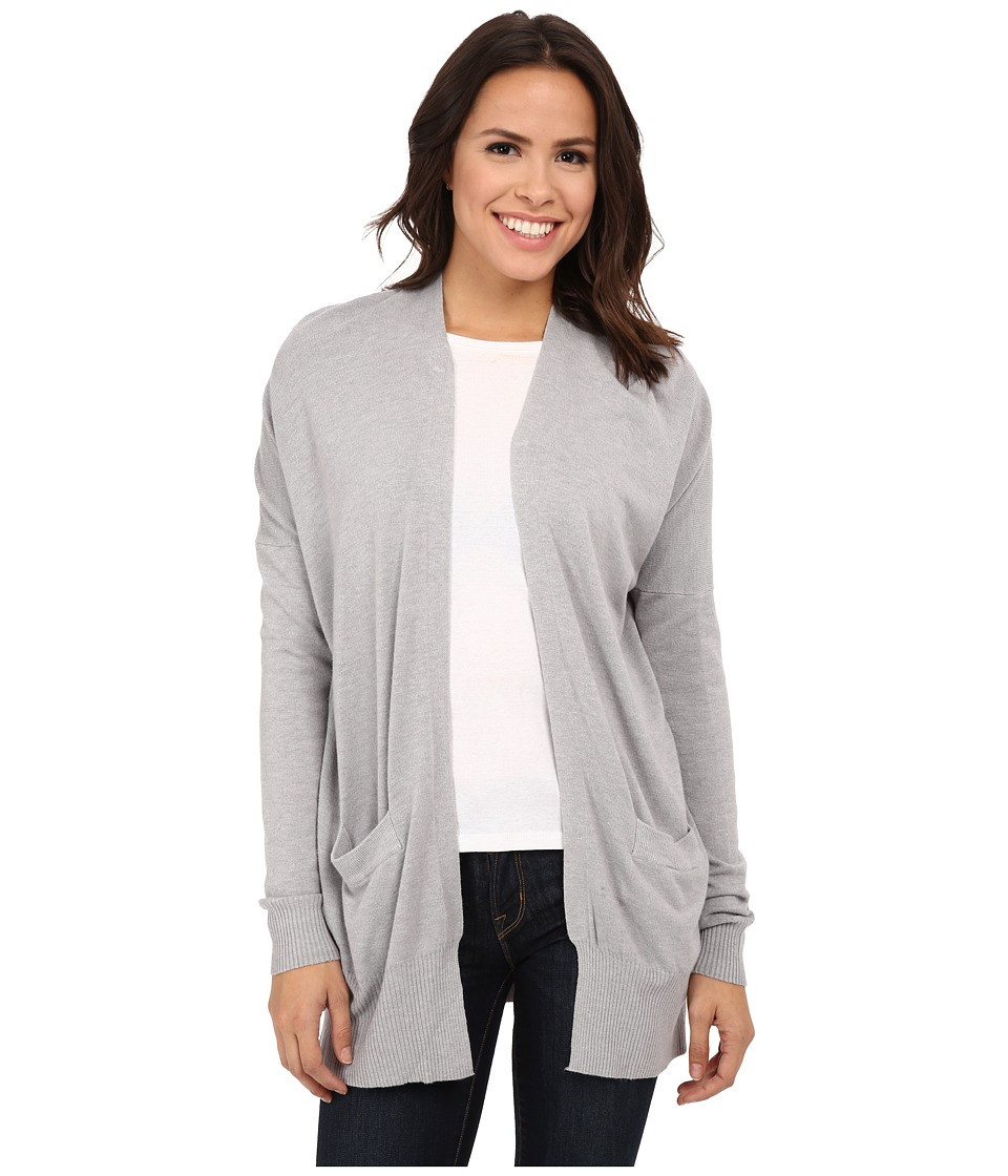 Culture Phit - Raylen Two-Pocket Cardigan (Light Heather Grey) Women's Sweater