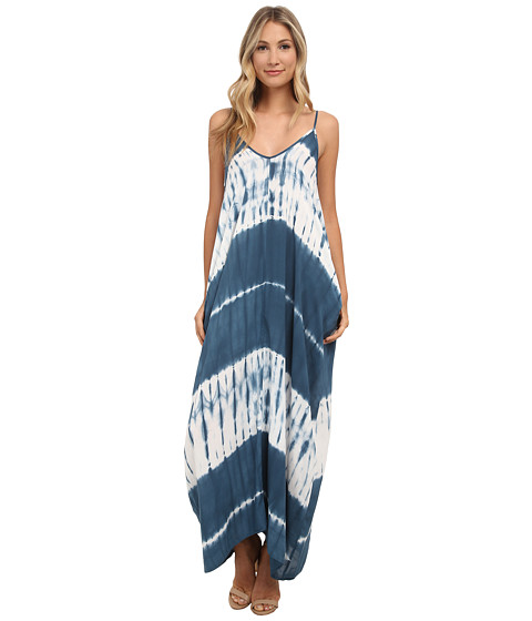 Gabriella Rocha - Alvera Dress (Teal/White Tie-Dye) Women