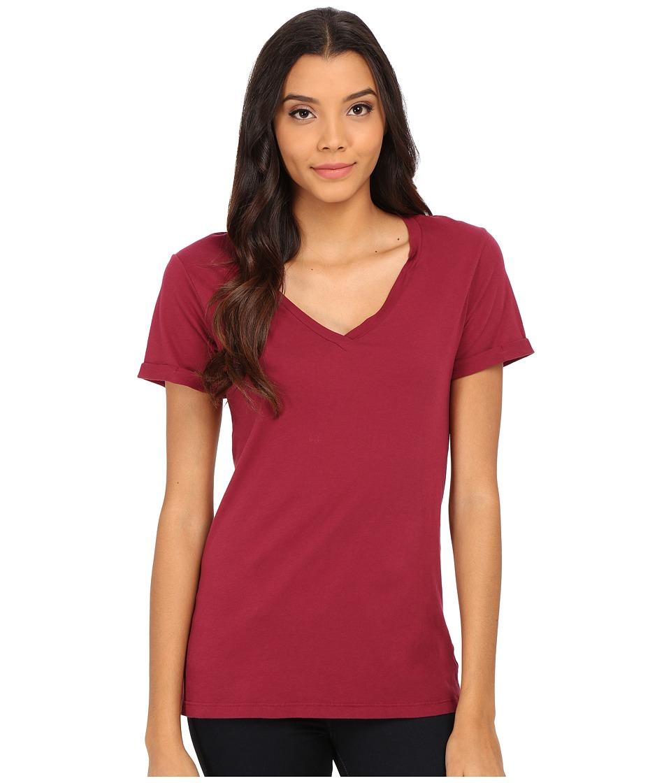 LAmade - Staple V S/S Tee (Grenache) Women's T Shirt