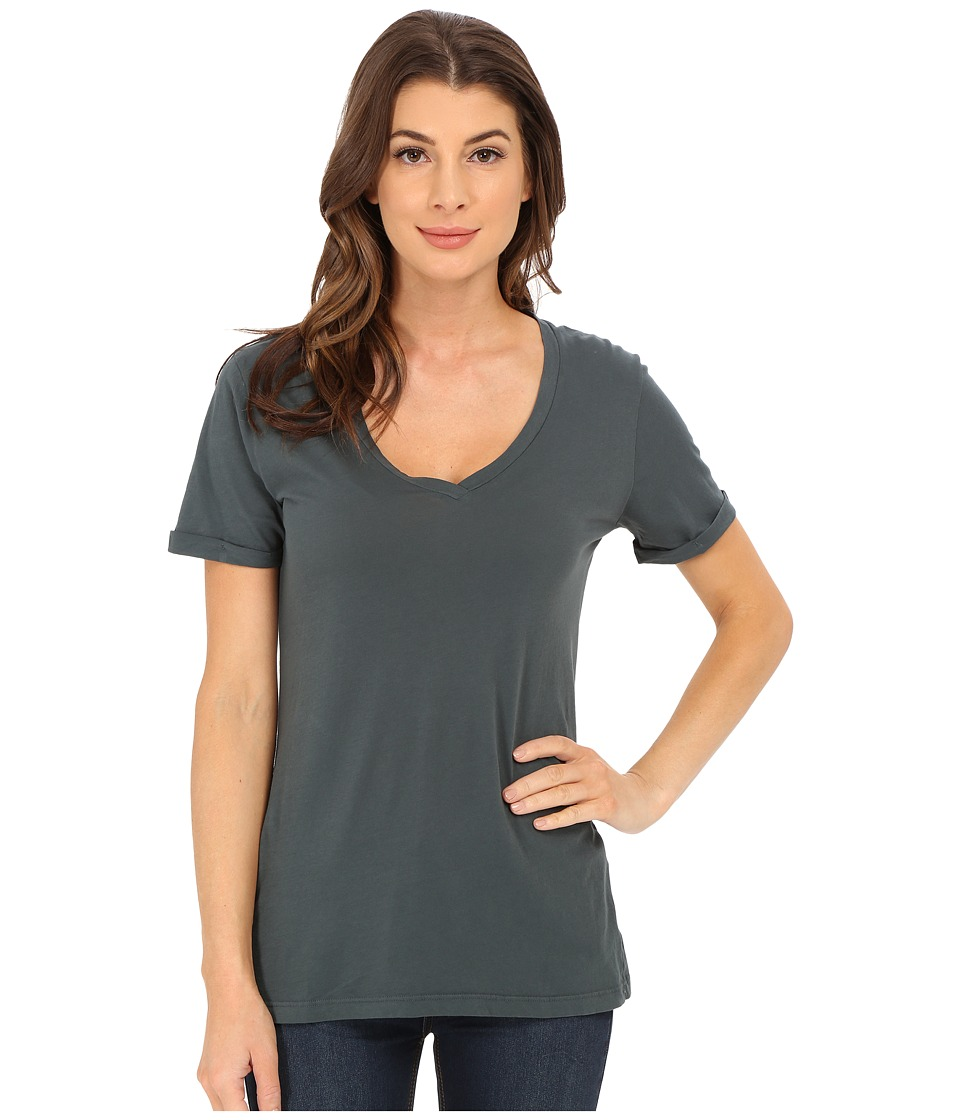 LAmade - Staple V S/S Tee (Marina) Women's T Shirt