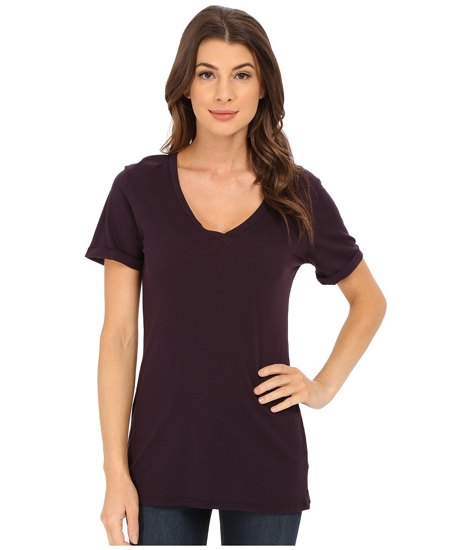LAmade - Staple V S/S Tee (Deep Purple) Women's T Shirt