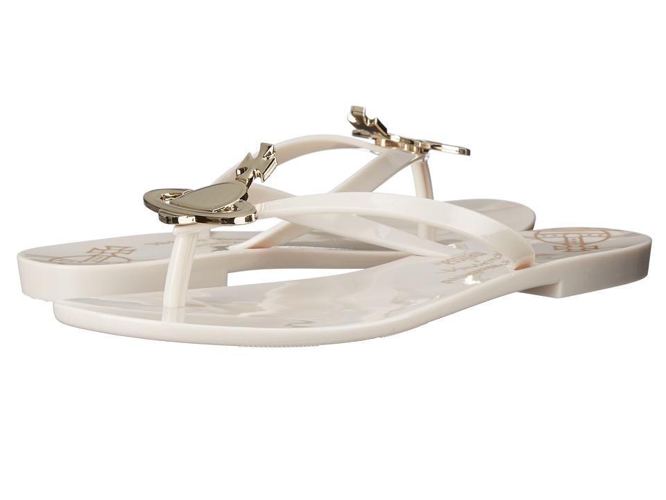 Vivienne Westwood - Anglomania + Melissa Harmonic Sandal (Beige) Women's Sandals