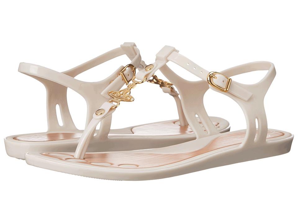 Vivienne Westwood - Vivienne Westwood - Anglomania + Melissa Solar Orb Sandal (White) Women's Sandals