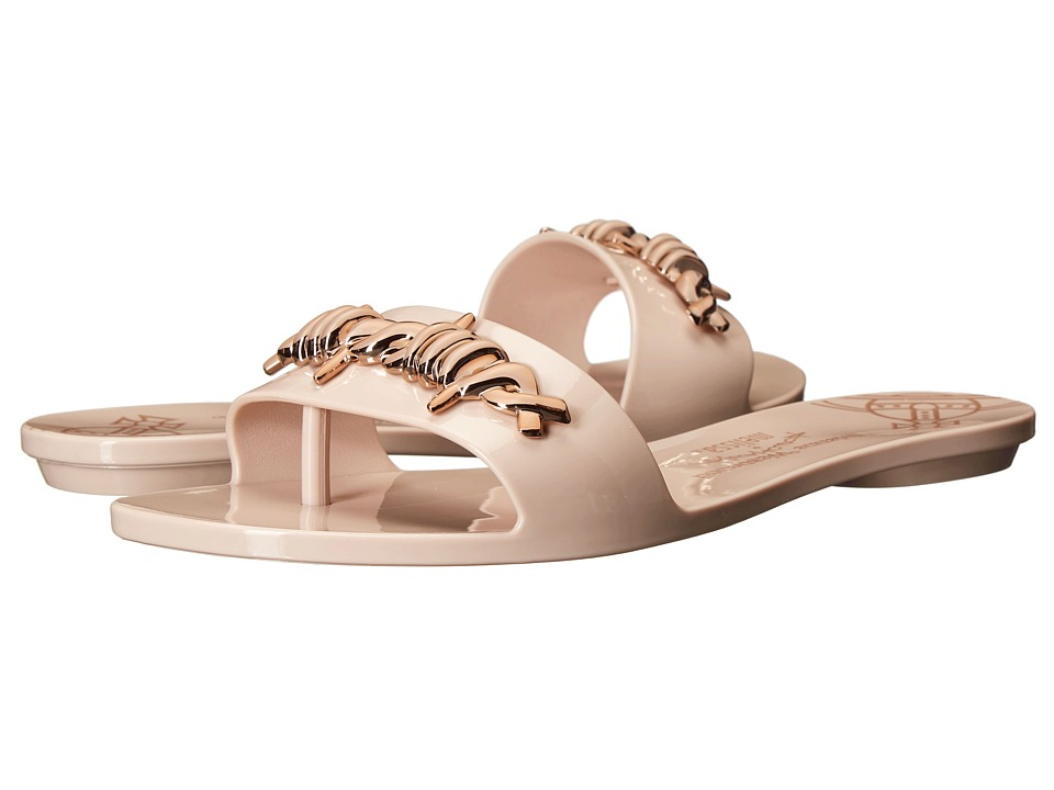 Vivienne Westwood - Anglomania + Melissa Lovely Sandal (Pale Pink/Rose Gold) Women's Sandals