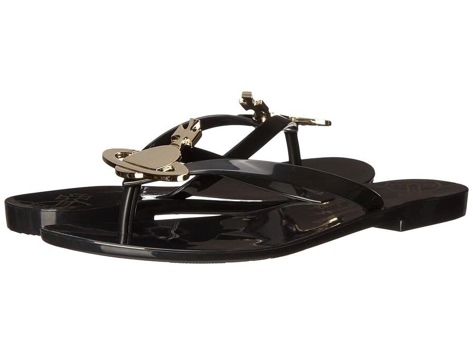 Vivienne Westwood - Anglomania + Melissa Harmonic Sandal (Black/Gold) Women's Sandals