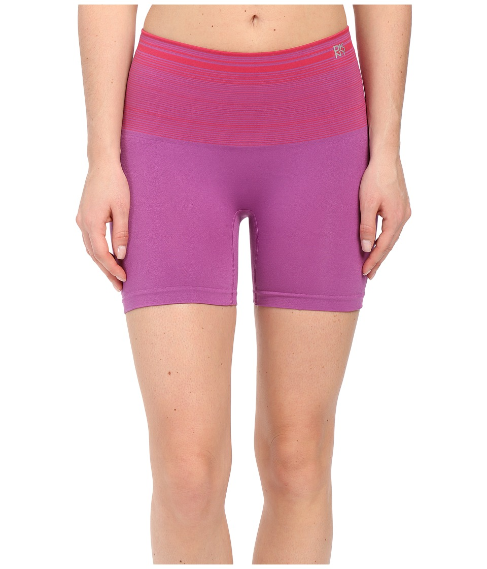DKNY Intimates - Fusion Sport Smoothies Shortie (Stripe Love Deep Orchid) Women