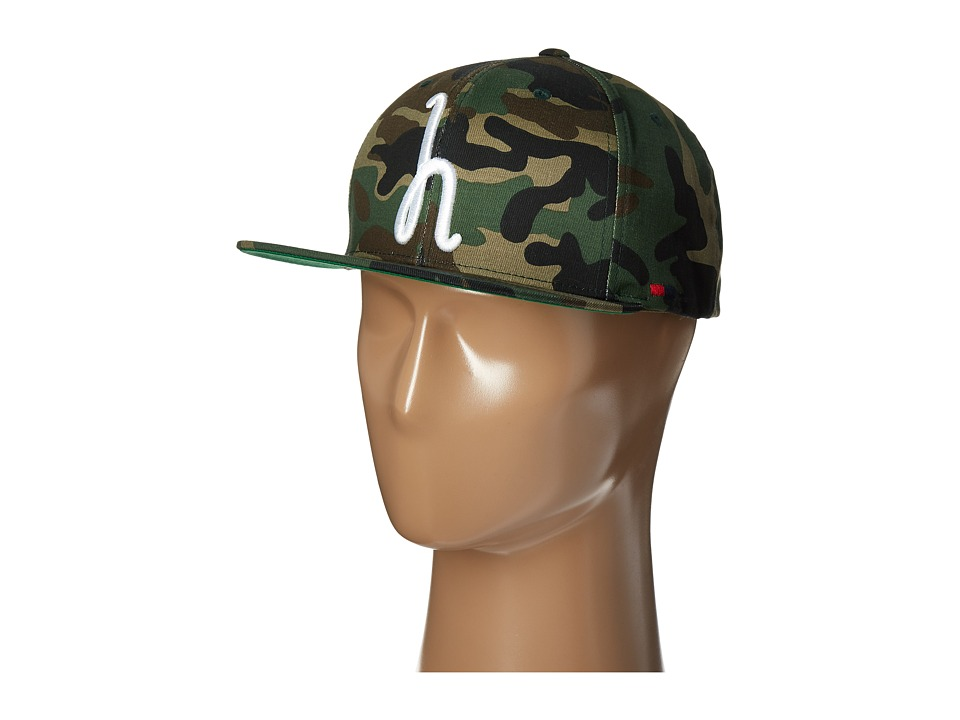 Herschel Supply Co. - Toby (Woodland Camo) Caps