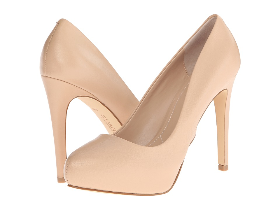Charles by Charles David - Frankie (Nude Leather) High Heels