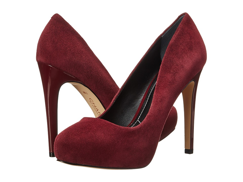 Charles by Charles David Frankie (Burgundy Suede) High Heels
