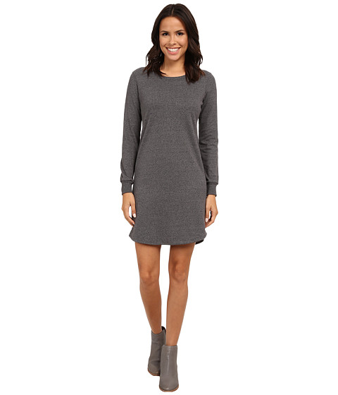 Alternative - Mock Twist Jersey Extended Stay Dress (Eco Black) Women's Dress